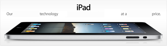 iPad Advertisement (Stripped Message)