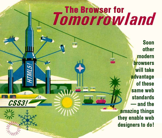 Apple's Amazing Tomorrowland Will Have Modern Browsers Understanding HTML5 and CSS3