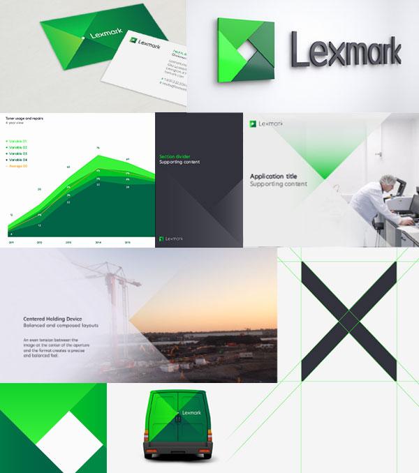 Lexmark Brand Examples