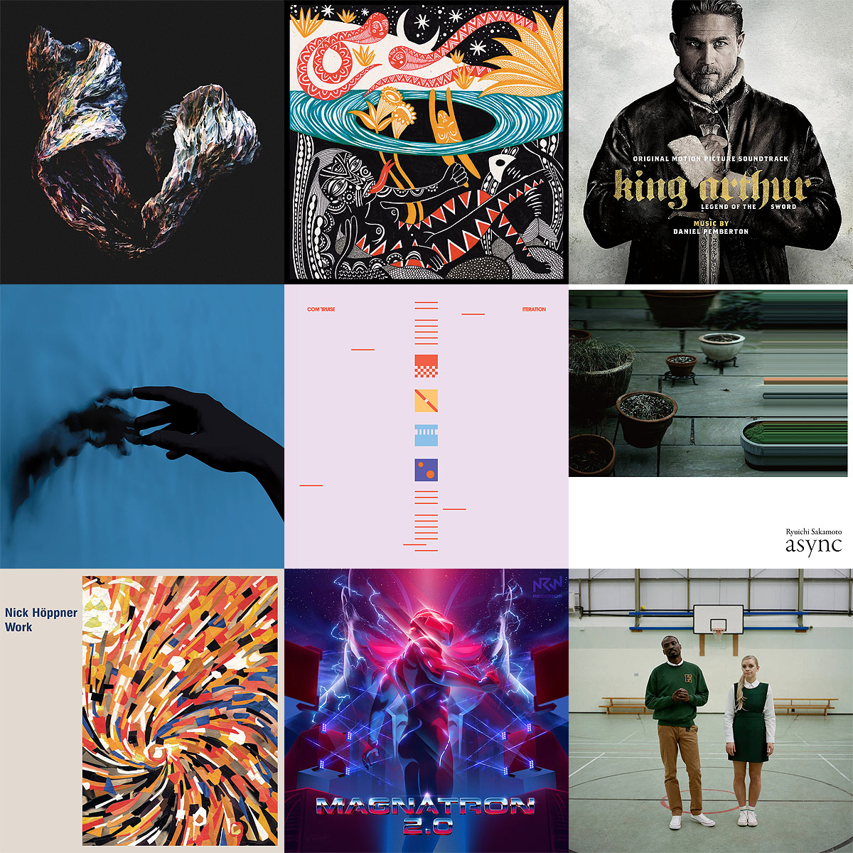 Favorite albums of 2017 - covers