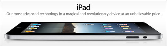 iPad Advertisement