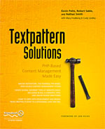 Cover of Textpattern Solutions
